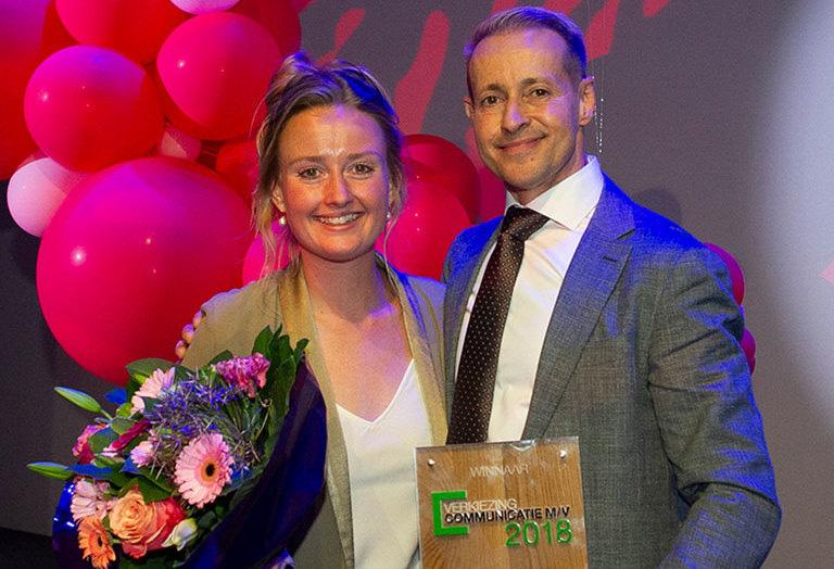 Rudolph en Isabel winnen communicatieprijs 2018