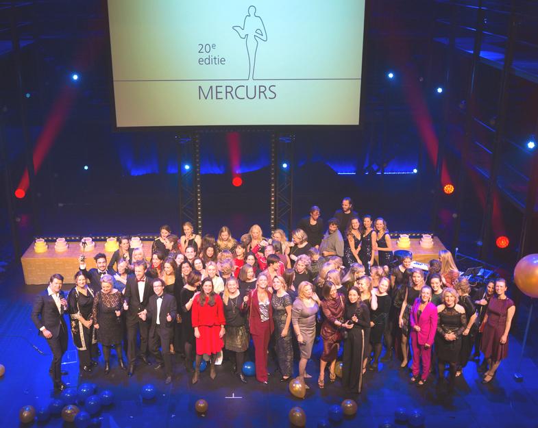 12 winnaars tijdens Mercurs jubileumeditie