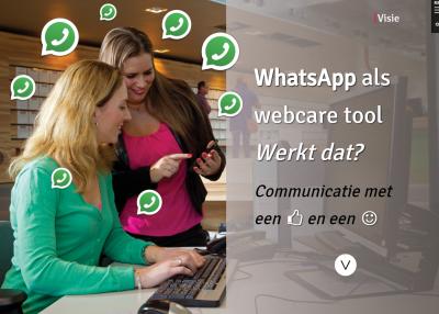 Eerste onderzoek naar WhatsApp als webcaretool