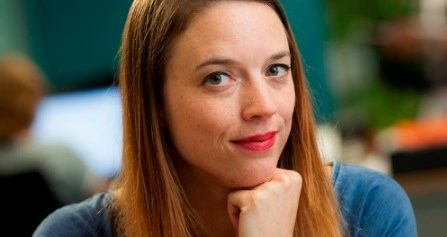 Rhijja Jansen op haar plek bij Haaglanden ziekenhuis