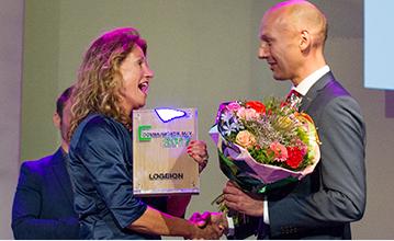 Wim van der Weegen is Logeion Communicatieman van het Jaar