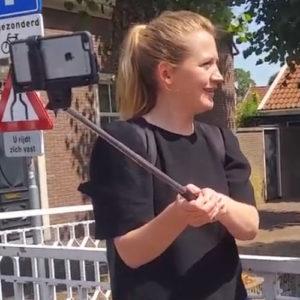 Sophie Verschoor leert filmen met haar smartphone tijdens Summerschool
