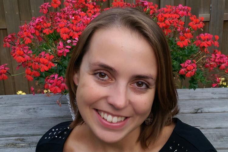 Stephanie de Blieck (her)schrijft content voor nieuwe website hogeschool Windesheim