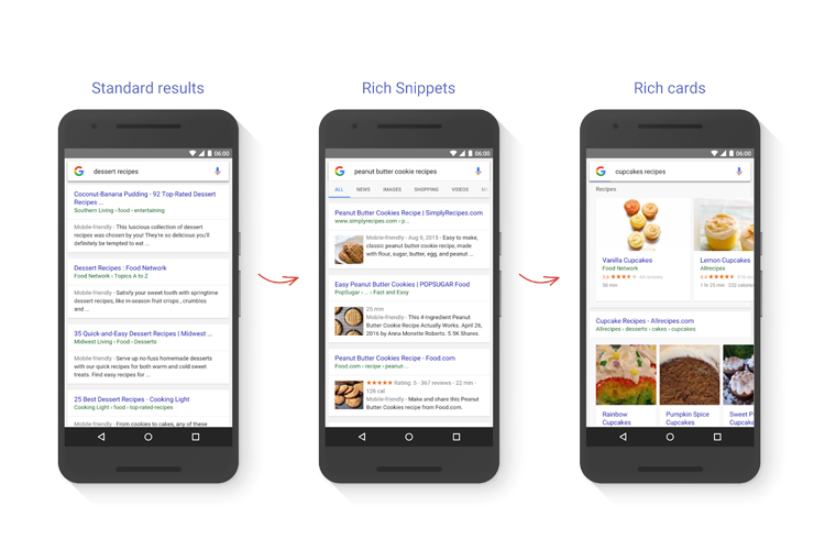 Opvallen in Google? Voeg rich snippets en rich cards toe