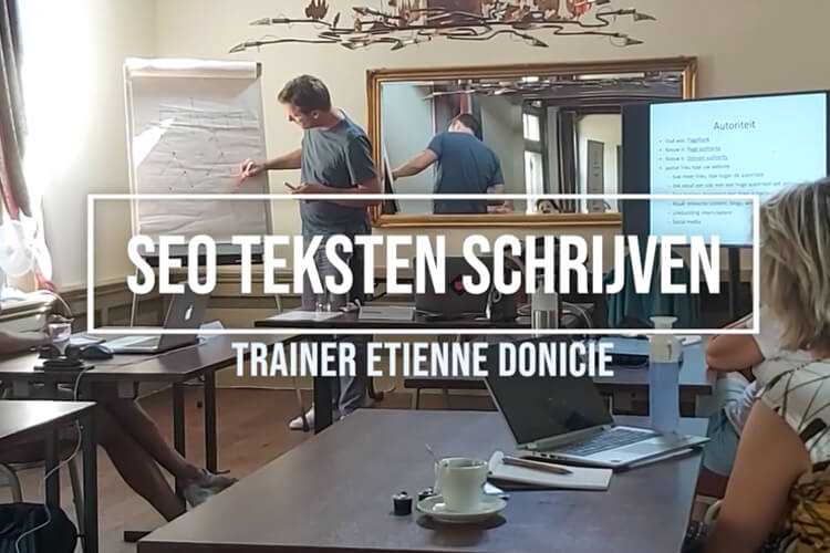 Video | Alle ins en outs over SEO, dat leer je van trainer Etienne Donicie